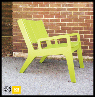 Recycled Milk Jug Lounge Chair